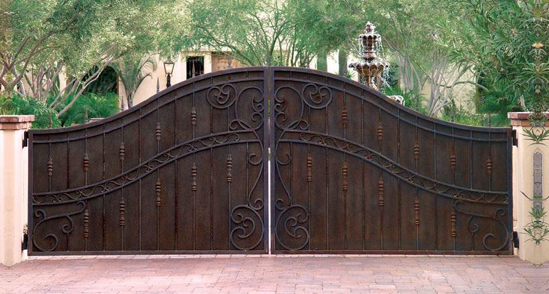 Ornamental Iron Gates Oklahoma City Edmond Norman