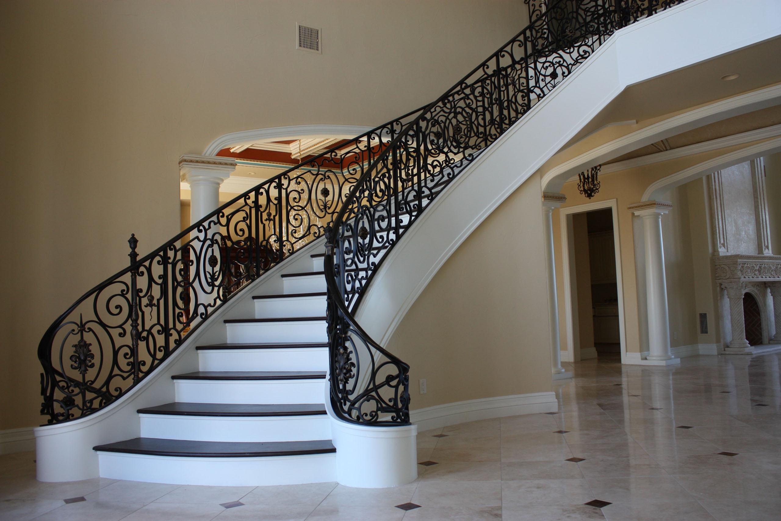 Home Stair Railing Design Contemporary Stairs Railing Modern